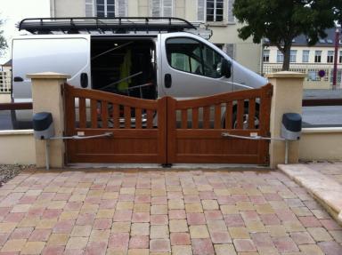 Installation portail motorisé Villers-Bocage
